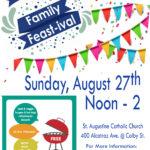 St Augustine Fest-ival Poster 2017