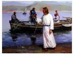 Jesus and fisherman