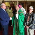 Bishop Barber meets Bob Irwin and Florence Ottoboni